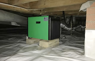 Dehumidifiers & Sealed Crawlspaces
